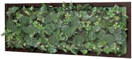 リーフパネル 壁掛け アートパネル 絵画 壁掛けパネル 観葉植物 おしゃれ グリーン アジアン 北欧 新築祝い 日本製 国産 送料無料 通販 GR3355 【ori】