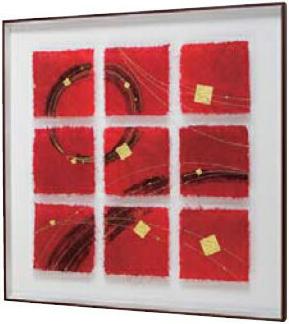 アートパネル 壁掛け インテリアアート 和風 デザインパネル 和紙 パネルアート 金箔 おしゃれ 新築祝い 日本製 国産 送料無料 通販 IN3650 【ori】