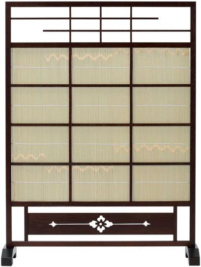 55%以上節約 衝立 日本製 和風 屏風 屏風 パーテーション 間仕切り 間仕切り パーティション ついたて 簾屏風 簾衝立 夏屏風 スクリーン 高級 日本製 国産 送料無料 通販 8933【oo】, 伊具郡:5f68bfcc --- clftranspo.dominiotemporario.com