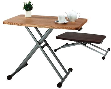 リフトテーブル 木天板 ( センターテーブル リビングテーブル ローテーブル コーヒーテーブル 机 送料無料 ) 【5000円以上送料無料】