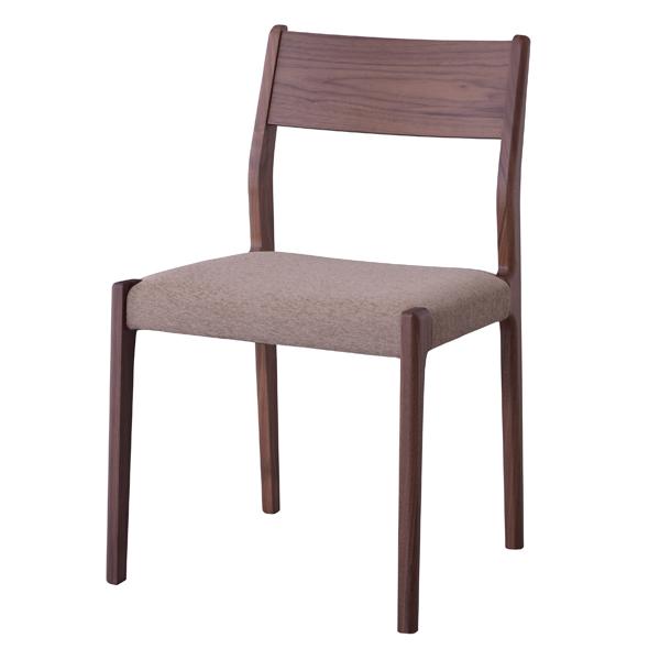 ダイニングチェア 天然木 ウォールナット 日本製 座面高44cm ( 送料無料 ダイニングチェアー 椅子 完成品 イス いす チェアー チェア 食卓椅子 リビングチェア 天然木 ウォールナット ナチュラル シンプル 日本製 国産 )【39ショップ】