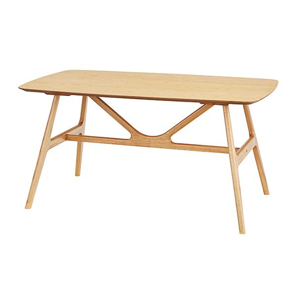 ダイニングテーブル 幅150cm テーブル オスカー 木製 食卓 机 北欧 ( 送料無料 食卓テーブル 木製テーブル 4人掛け 150 食卓机 リビングテーブル おしゃれ 天然木 木目 シンプル 4人 つくえ 北欧家具 )【5000円以上送料無料】
