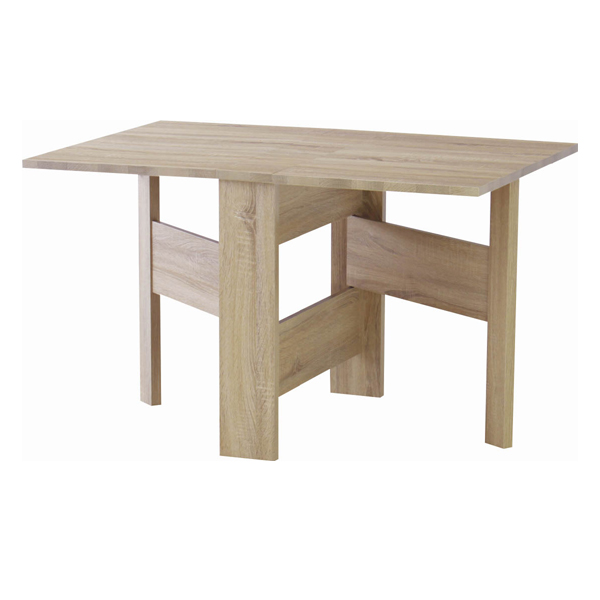 折りたたみテーブル 幅120cm フィーカ フォールディングダイニングテーブル ( 送料無料 ダイニング 食卓 テーブル リビングテーブル デスク 天然木風 食卓テーブル 折り畳み 折畳 リビングダイニング )【5000円以上送料無料】