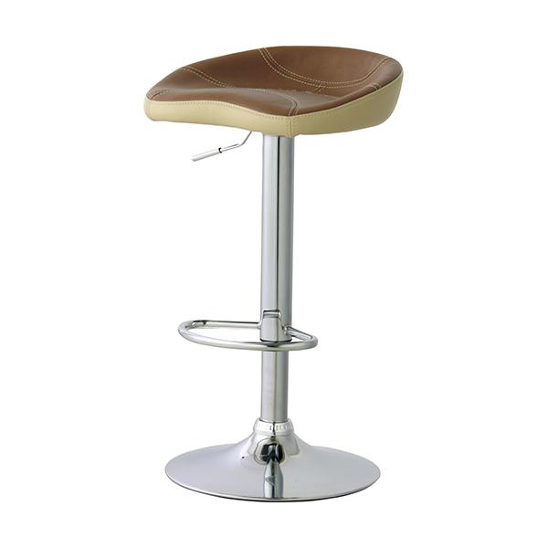 カウンタースツール 椅子 ソフトレザー 座面高62~82cm ( 送料無料 イス いす チェア チェアー 回転椅子 回転いす ハイチェア ハイチェアー カウンターチェア カウンターチェアー レザー 高さ調節 昇降式 )【39ショップ】
