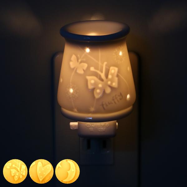 受注生産品 眺めるほどに深みを増すデザイン アロマランプ 照明 アロマライト プレシャスミニライト アロマディフューザー フットライト インテリアライト ライト トレンド 陶器 香り 癒し コンセント型 アロマ 階段 コンセントタイプ 香 廊下 39ショップ