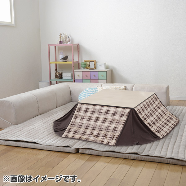 205x205cm Low Sofa Rug Kotatsu Mattress Floor L Shape With The Corner Cushion Set Cover
