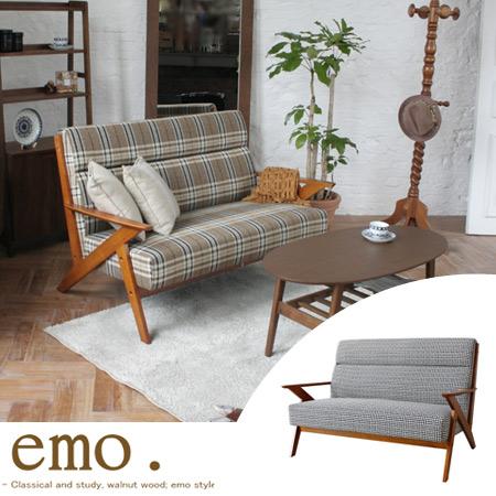 interior-palette | Rakuten Global Market: Emo emo sofa two seat mid ...