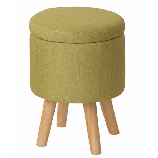 With Storage Stool Chair Circle Type Upholstered Height 43 Cm (Chair Desk  Chair Round Circular Dining Chair Pasoconcea Chair Storage Case Glove  Compartment)