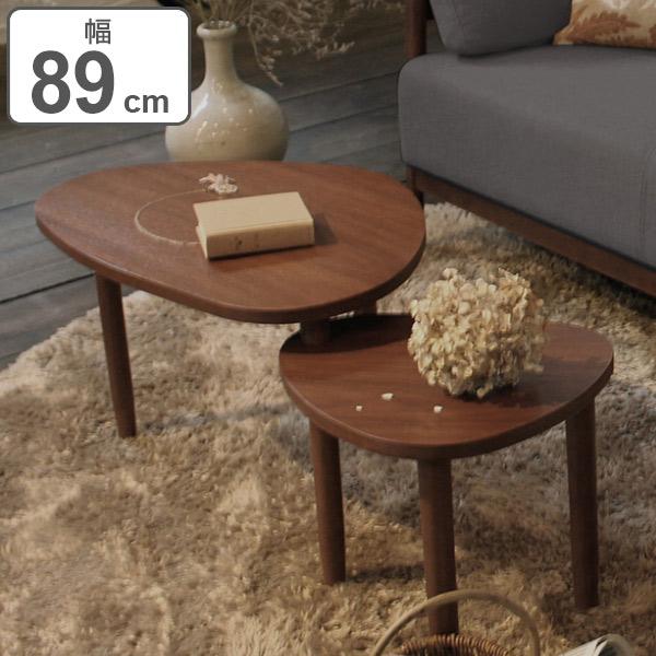 センターテーブル 収納 天然木 木製 幅89.5cm ( 送料無料 テーブル 机 つくえ リビングテーブル コーヒーテーブル リビング 収納 ローテーブル )【5000円以上送料無料】