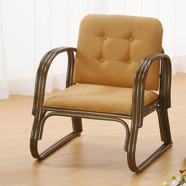 籐(ラタン) ワイド便利座椅子 ミドルタイプ【S222B】 送料無料 【5000円以上送料無料】