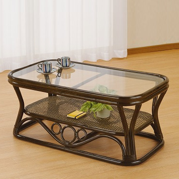 籐(ラタン) テーブル 【T46B】 送料無料 【5000円以上送料無料】