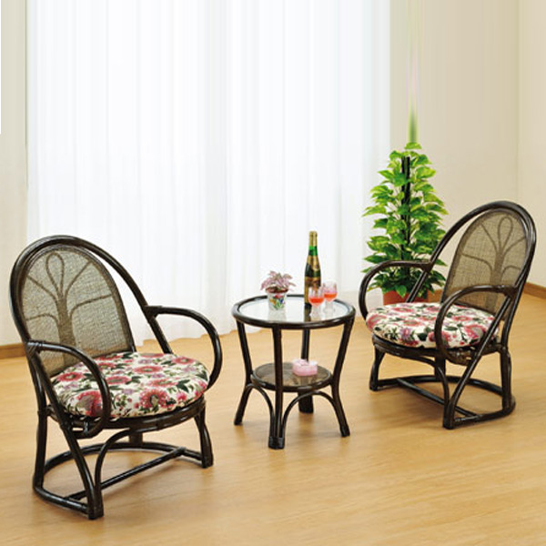 Wicker Living Room Set (rattan Chair Chair Chair Table Desk)
