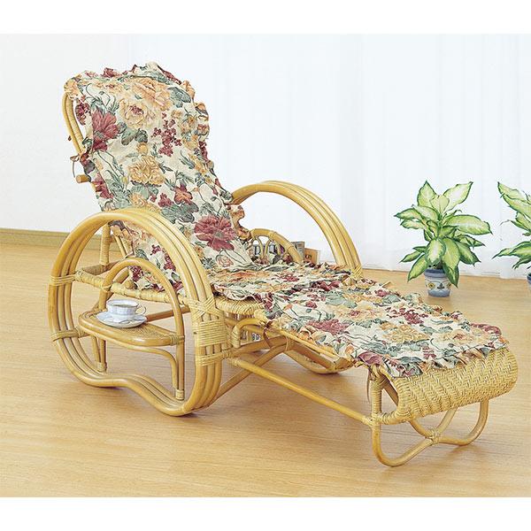 寝椅子 ラタン カウチソファ 三つ折り 籐家具 座面高35cm( 送料無料 イス チェア アジアン ) 【39ショップ】