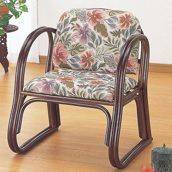 籐(ラタン) 思いやり座椅子 デラックス ハイタイプ【S124】 送料無料 【5000円以上送料無料】