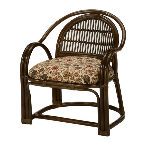 籐(ラタン) アームチェアー 【S886B】 送料無料 【5000円以上送料無料】