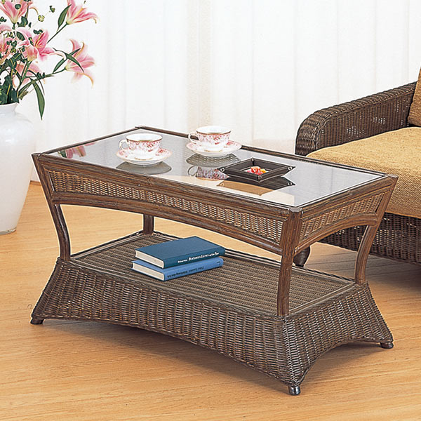 籐(ラタン) テーブル 【T121B】 送料無料 【5000円以上送料無料】