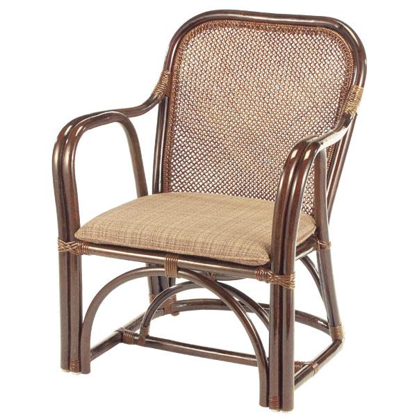 籐 ラタンチェア アームチェア 35CN 座面高37cm ( 送料無料 アジアン家具 ラタン家具 椅子 チェア イス いす アームチェアー チェアー 肘掛け座椅子 座椅子 座いす 肘掛け ) 【5000円以上送料無料】
