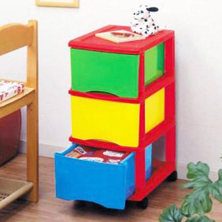 Trundle Storage Case Kids Storage 3 Stage (storage Box Drawer Childrenu0027s  Toy Box Costume Case Plastic)