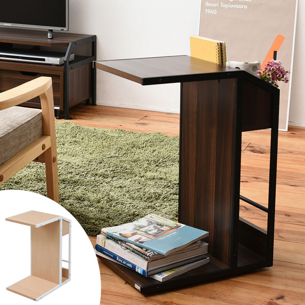 interior-palette | Rakuten Global Market: Side table storage wagon ...