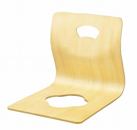4脚セット 木製座イス ナチュラル( 座椅子 スタッキング 送料無料 ) 【5000円以上送料無料】