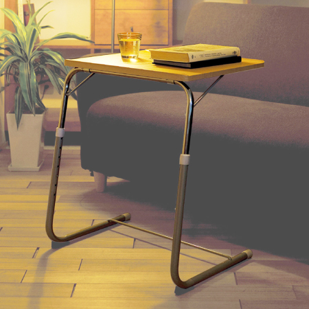 Surprising Folding Side Table Natural Angle Adjustment Folding Side Table Folding Desk Pc Desk Sofa Table Gmtry Best Dining Table And Chair Ideas Images Gmtryco