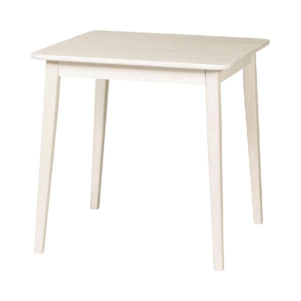 ダイニングテーブル 食卓 カントリー調 MIGNON 幅70cm 角型 ( 送料無料 クラシック調 ガーリー 白家具 テーブル ダイニング キッチン コンパクト ホワイト アンティーク 一人暮らし 女子 女の子 子供部屋 姫系 正方形 )