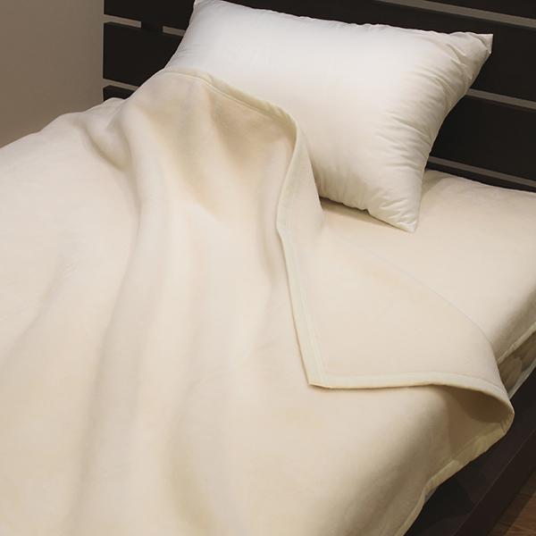 毛布 無漂白 無着色 ナチュラルコットン 綿 ブランケット 天然繊維 ( 送料無料 シングル もうふ 掛け毛布 布団 掛け 寝具 綿毛布 暖かい あったか 肌触り いい 洗える 綿100% )【39ショップ】