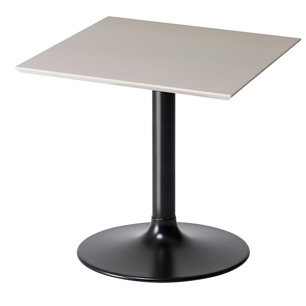 テーブル 正方形 ダイニングテーブル LIETO 70cm角 ( 送料無料 カフェテーブル つくえ 机 開梱設置 開梱設置無料 コーヒーテーブル スクエア 鏡面 ハイテーブル リビングテーブル )【5000円以上送料無料】