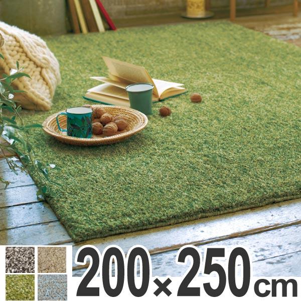 ラグ シャギーラグ ムック 200×250cm ( 送料無料 ラグマット シャギー 洗える 北欧 カーペット 絨毯 じゅうたん ホットカーペット対応 おしゃれ ふわふわ 速乾性 吸収性 )