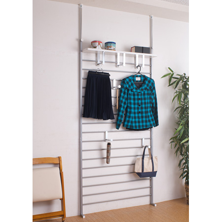 Prop Ladder Rack, Shelving Width 95 Cm Silver (share Out Rack Storage Wall  Storage Boutique Clothes Hanger Rack 突pa And Coat Hangers)