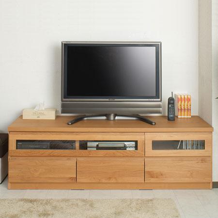 Natural Wood Snack Width 150 Cm Av Board Storage Make Tv Stand