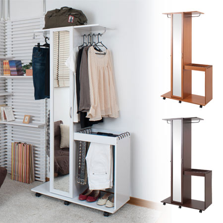 Superieur Pants Hanger And Hanger Rack Mirror W (stand Mirror Storage Shelves Casters  Glass Closet Mirror Coat Hanger Filing Cabinets)