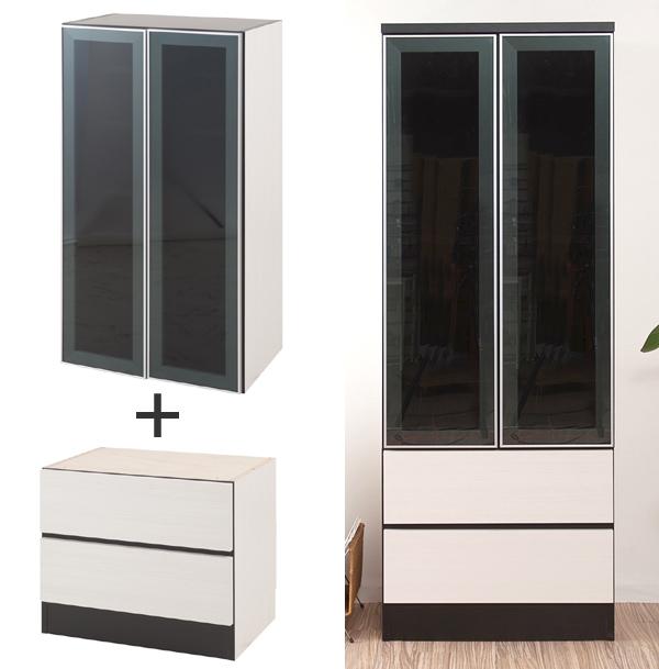 Glass Door Storage Cabinet Door Ideas Themiraclez