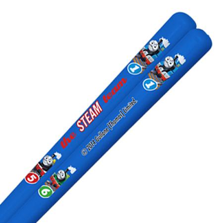 箸&箸箱セット スライド式 きかんしゃトーマス 16.5cm 子供用 キャラクター ( 子供用お箸 箸&ケース 食洗機対応 スライド箸箱 )