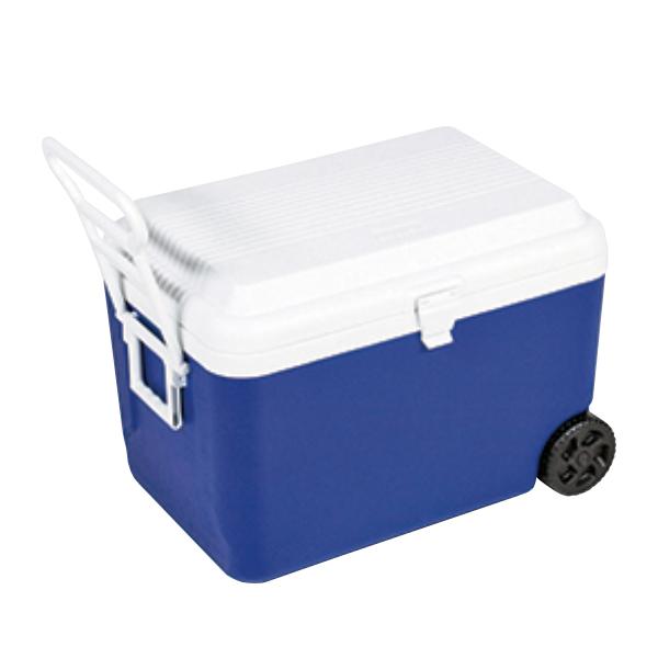 クーラーボックス リガードホイールクーラー 大容量 キャスター付き 60L キャプテンスタッグ (  保冷バッグ クーラーバッグ 60リットル 大型 アウトドア用品 キャンプ用品 冷蔵ボックス )