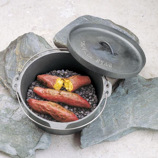 焼きいも用石 3kg キャプテンスタッグ  ( 石焼き芋 焼き石 アウトドア用品 CAPTAIN STAG 調理用品 グッズ バーベキュー BBQ 焼石 )
