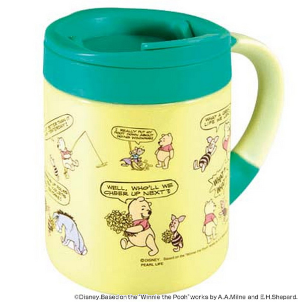 Mug Winnie Poohu0027s comic 280 ml stainless steel lid (mug thermal insulated mug lid tableware mug Disney Winnie the Pooh)  sc 1 st  Rakuten & interior-palette | Rakuten Global Market: Mug Winnie Poohu0027s comic ...