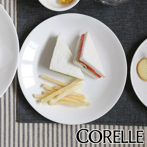 どんなシチュエーションでも使えるシンプルな白 プレート 22cm コレール CORELLE 白 食器 皿 美品 ウインターフロスト 食洗機対応 ホワイト 電子レンジ対応 お皿 39ショップ パン皿 オーブン対応 ラウンド 平皿 丸皿 信頼 白い皿 洋食器 ケーキ皿 取り皿 中皿 白い