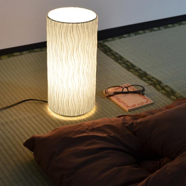 テーブルライト 和紙 プリーツ 舞姫 1灯 ( 送料無料 照明 和風 テーブル LED 和室 和モダン デスク 照明器具 和照明 おしゃれ 日本製 )【39ショップ】