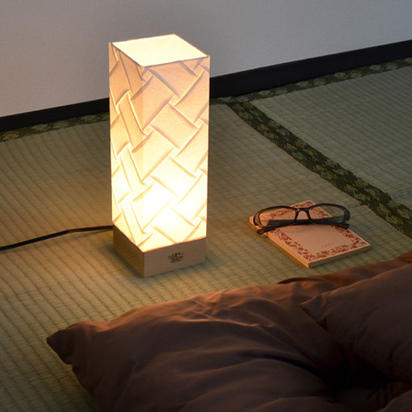 Interior Palette Table Light Anese Paper Pleats Corner Type Vega