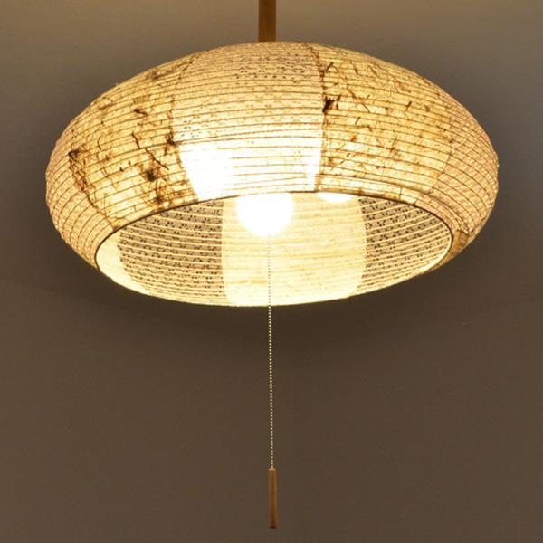 ペンダントライト 和紙 ペンダントランプ ツインバナナ 3灯 ( 送料無料 照明 ペンダント 和風 照明器具 天井照明 和室 和 レトロ 和モダン おしゃれ )【39ショップ】