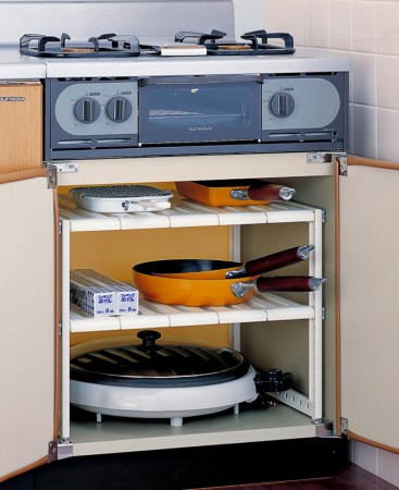 Storage Shelf Stove Under The Freak 2 Stage (organizing Shelf Kitchen  Storage Kitchen Storage Box Frying Pan Storage Shelf Sink Under Sink On Storage  Rack ...
