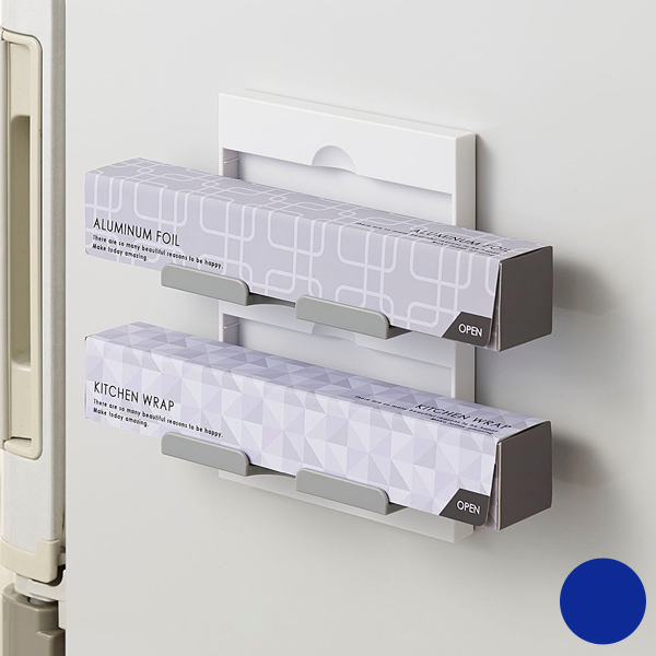 Wrap Holder Two Stage Storage Ring Magnet Magnet (wrap The Aluminum Foil  Storage Refrigerator ...