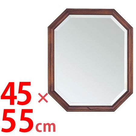 壁掛けミラー ベーシック 幅45×高さ55cm ( 鏡 ドレッサー 姿見 飛散防止 ウォールミラー 送料無料 ) 【5000円以上送料無料】