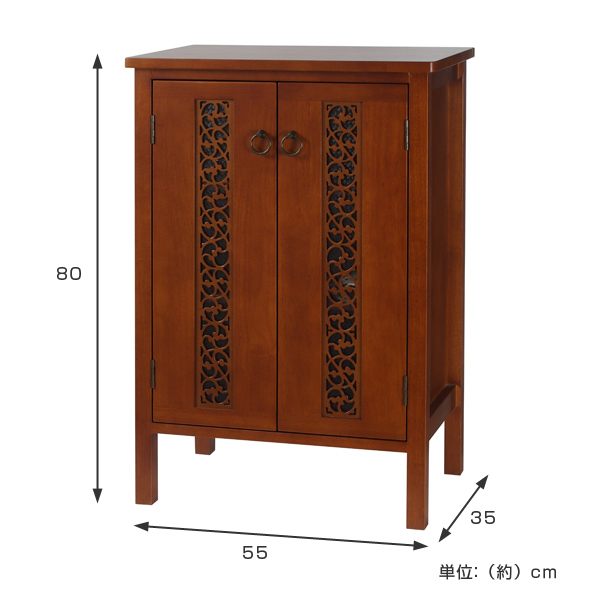 Cabinet Asian Furniture Natural Wood Orchid Width 55 Cm (door Storage Asian  Asian Wooden Shelf Storage Shelves Cupboard Door With Fashionable Watermark  ...