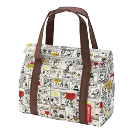 Lunch Bag Insulated Snoopy Folding M Warm Character Cooler Tote Of