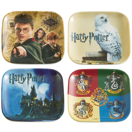 Saucer miniplates 4 piece set Harry Potter Harry Potter made in melamine character (design plates Dinnerware melamine plate square-shaped Harry Potter Harry ...  sc 1 st  Rakuten : harry potter tableware - pezcame.com