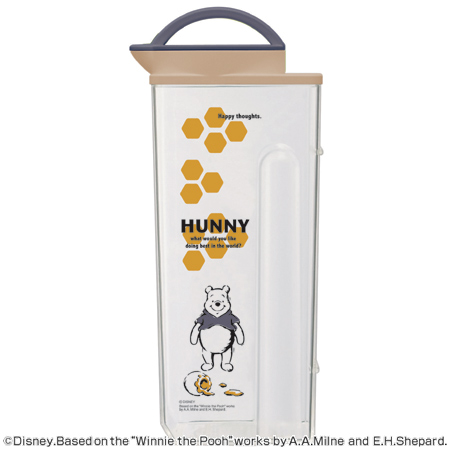 Cold water pipe cold water pot Winnie Pooh's 2.2 L heat-resistant vertical horizontal (pitcher cold pot barley pot calibrating Winnie the Pooh, Disney jug 2 l 2 l)