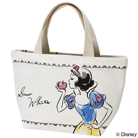 ■没有库存限度、进货的■(人物奥特莱斯)午餐包大手提包线技术白雪公主迪士尼公主帆布人物