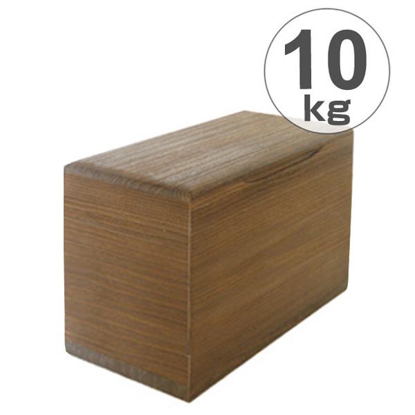 米びつ 桐製 10kg 焼桐 ( 送料無料 米櫃 ライスボックス ライスストッカー 10kg用 10キロ 桐 和風 桐製米びつ お米 収納 キッチン収納 ストッカー 保存 キッチン こめびつ ) 【5000円以上送料無料】